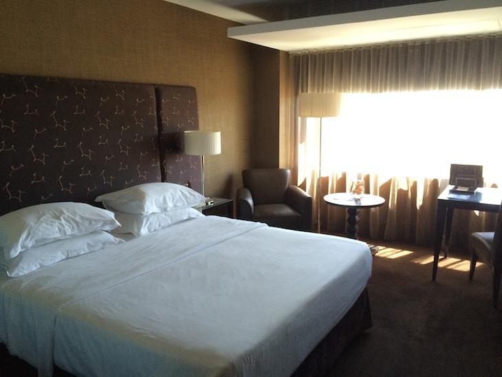 Quarto do hotel Sheraton Lisboa