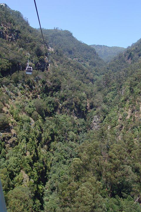Teleférico na Madeira