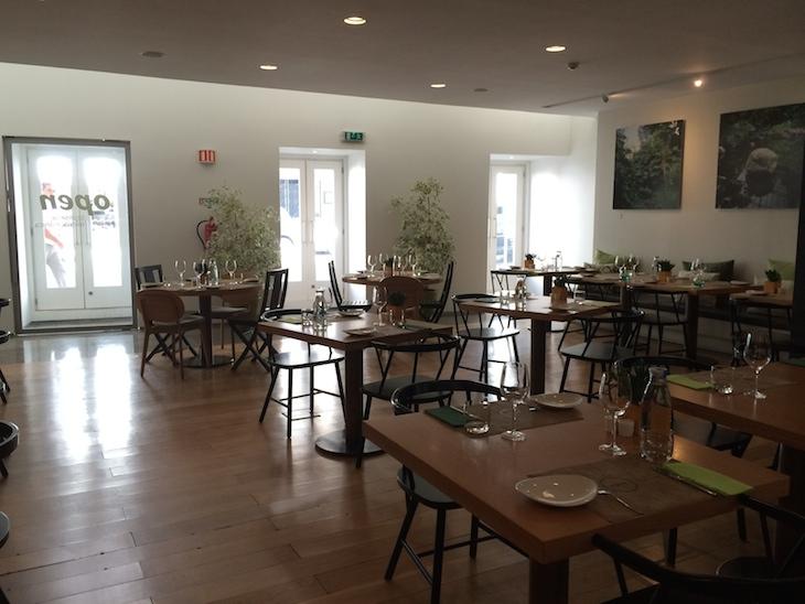 Restaurante do Inspira Santa Marta Hotel