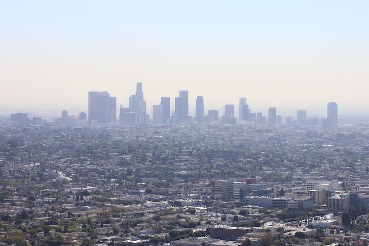 Baixa LA a partir do Observatório