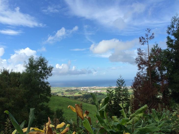 Vista da Caldeira Velha, Ribeira Grande, São Miguel, Açores