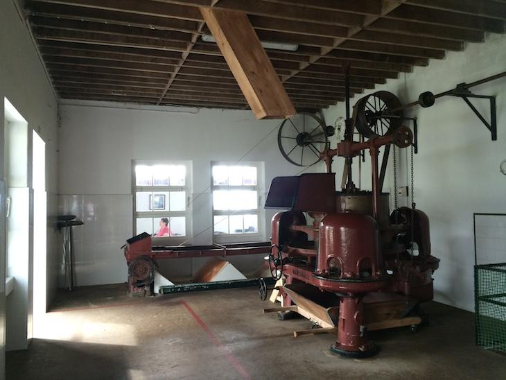 Máquinas da fábrica de Chá Gorreana