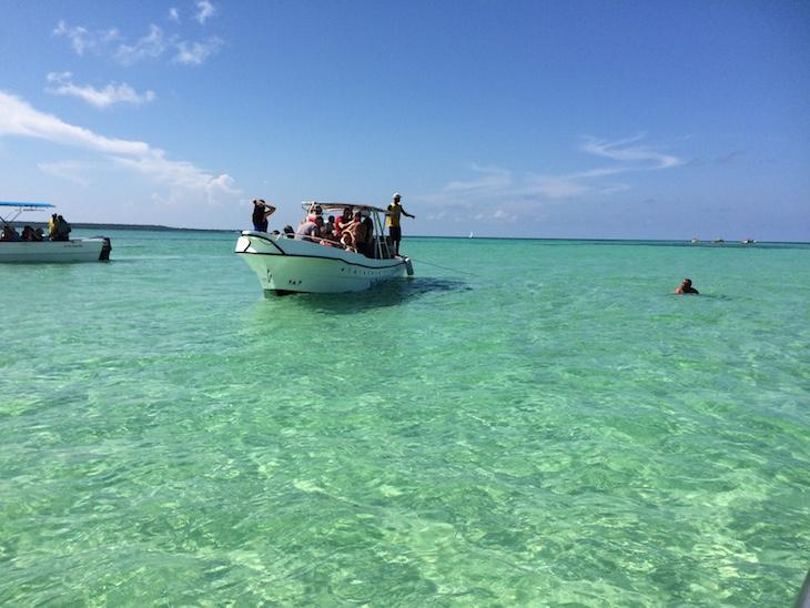 Nas piscinas naturais La Palmilla, República Dominicana © Viaje Comigo