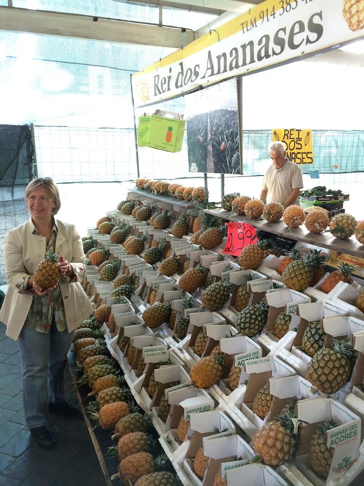 Chef Justa Nobre no Mercado Ponta Delgada