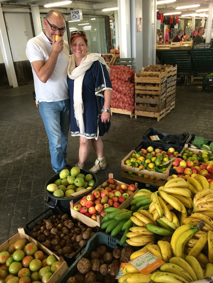Chefs Dalila e Renato Cunha no Mercado Ponta Delgada4