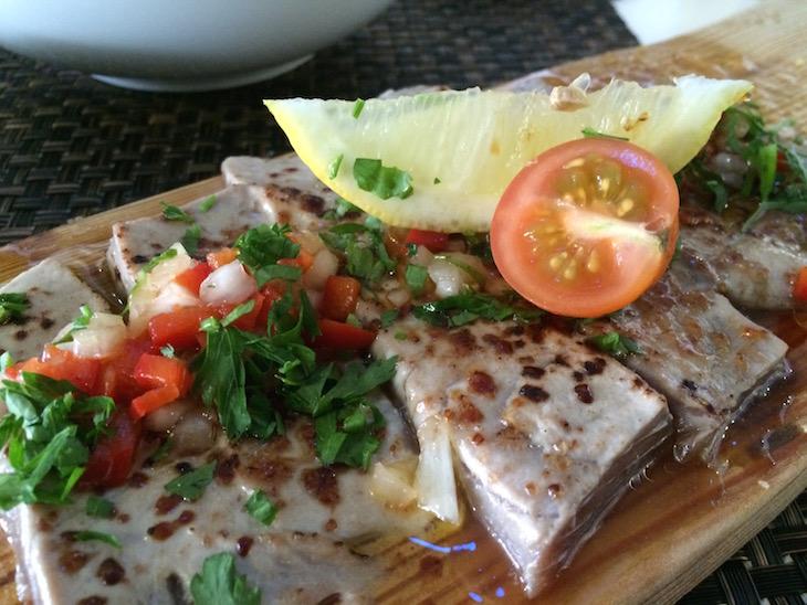 Atum braseado - Restaurante Convés