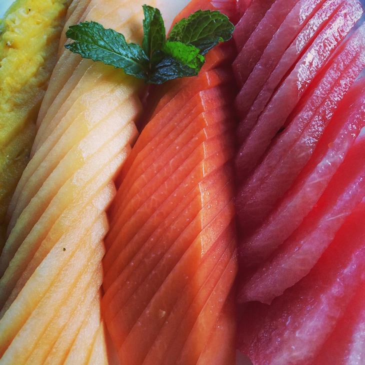 Fruta ao pequeno-almoço - Balcones del Atlântico