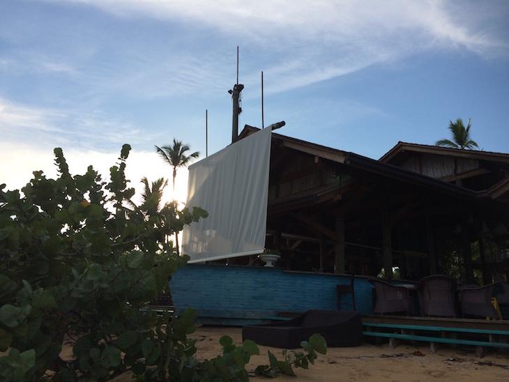 Balcones del Atlântico - Frente da receção e restaurante é um barco