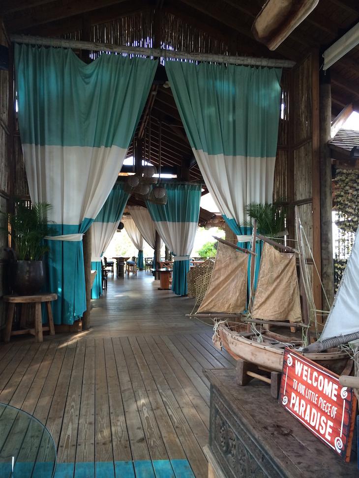 Balcones del Atlântico - Zona da receção e restaurante