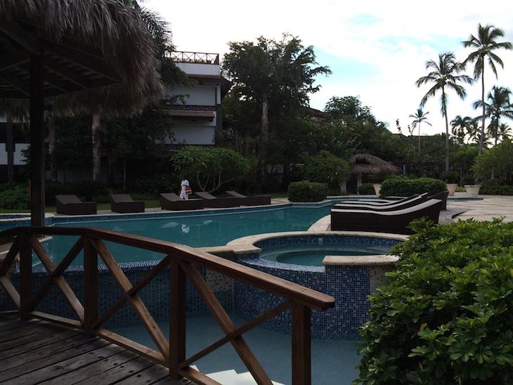 Uma das piscinas de Balcones del Atlântico