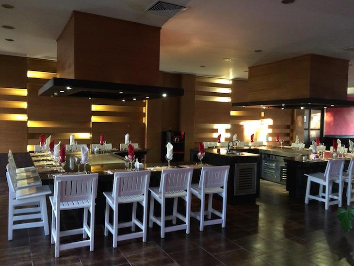 Restaurante asiático do Be Live Canoa, Bayahibe, República Dominicana