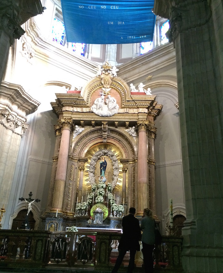 Altar da Igreja - Sameiro, Braga