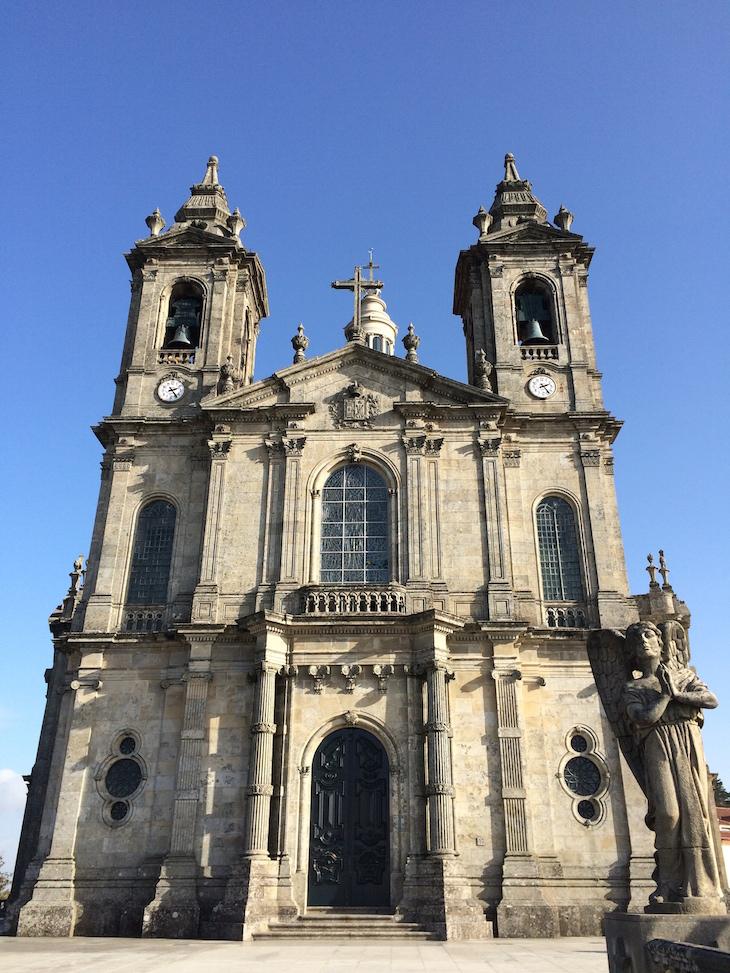 Entrada da Igreja do Santuário do Sameiro, Braga, Portugal