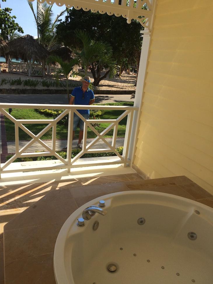 Jacuzzi na varanda do quarto - Gran Bahía Príncipe Cayo Levantado