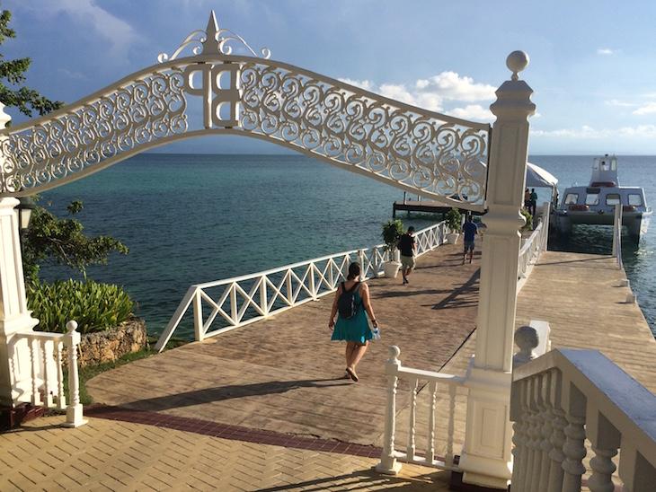 Entrada para o Gran Bahía Príncipe Cayo Levantado