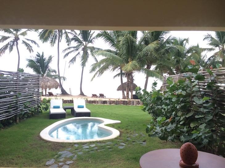 Vista da suite nupcial - Zoëtry Agua Punta Cana, República Dominicana
