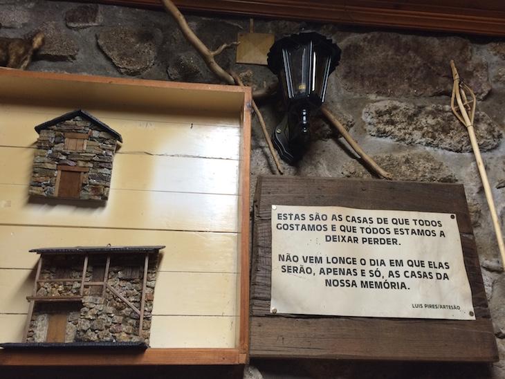Casas tradicionais no Café Montesinho