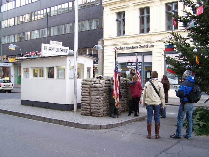 Checkpoint Charlie, Berlim © Viaje Comigo