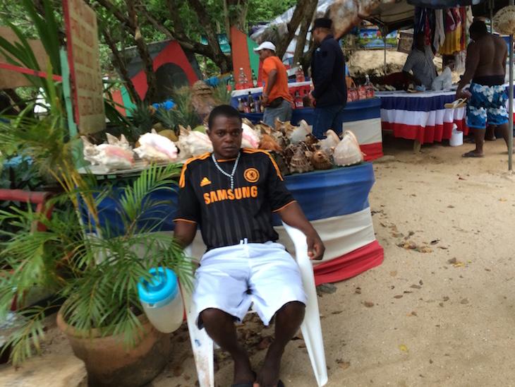 Junto da praia - Hotel Bahia Principe Cayacoa, República Dominicana