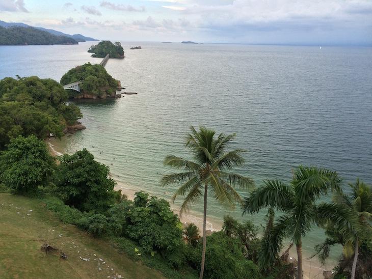 Vista do Hotel Bahia Principe Cayacoa, República Dominicana