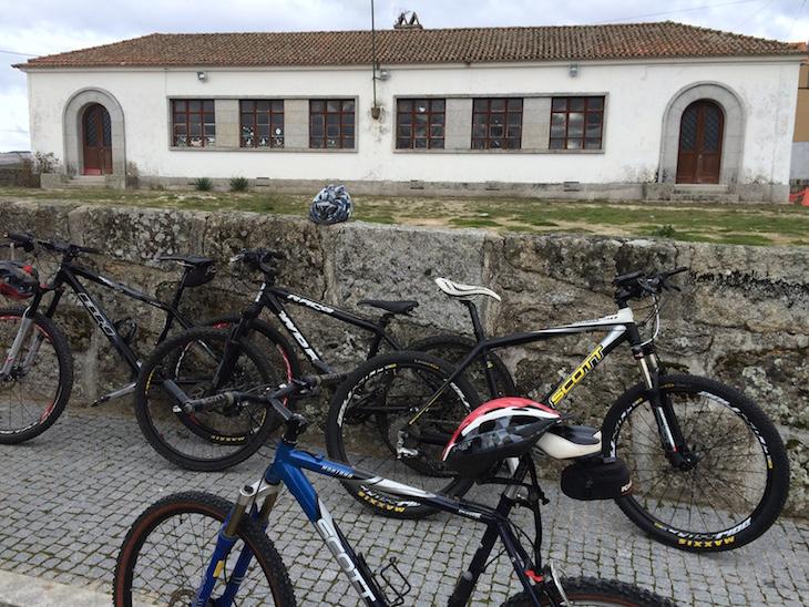 De bicicleta em Moimenta da Raia
