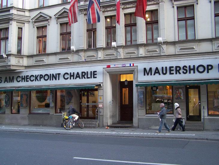Museu Checkpoint Charlie © Viaje Comigo