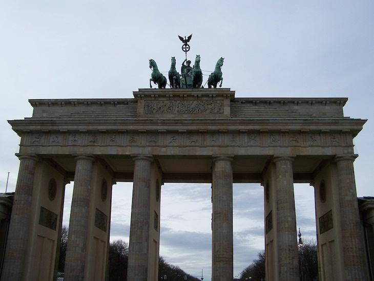 Porta de Brandeburgo, Berlim © Viaje Comigo