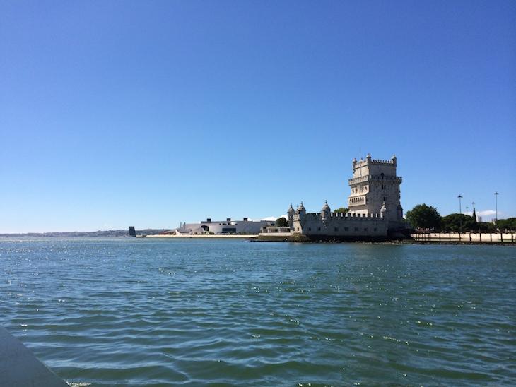 Torre de Belém - vista do rio Tejo