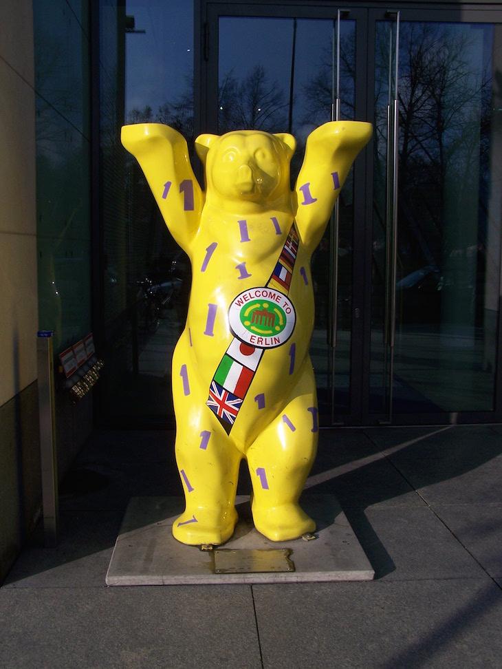 Urso de Berlim © Viaje Comigo