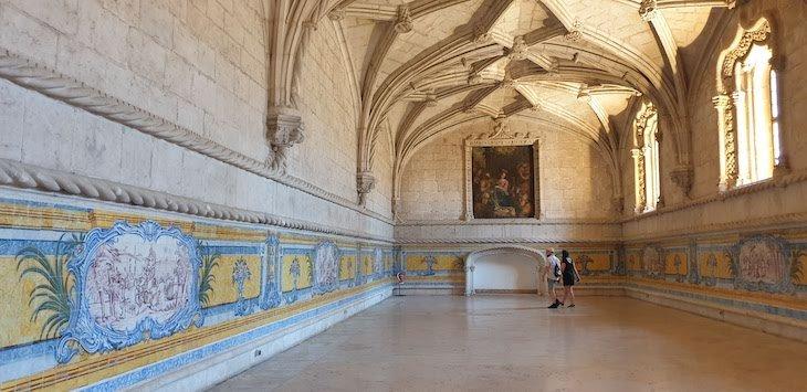 Refeitório do Mosteiro dos Jerónimos - Lisboa - Portugal © Viaje Comigo