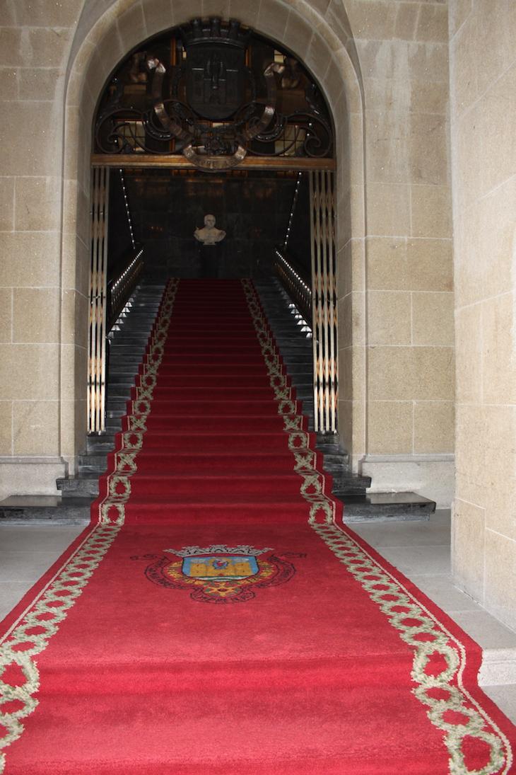 Entrada na Câmara Municipal do Porto
