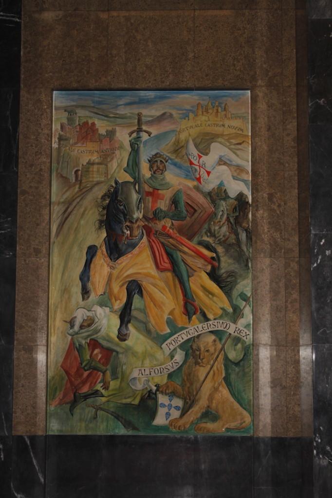 """""""As Origens - Potucale Gérmen da Nacionalidade"""" evocando D. Afonso Henriques"""
