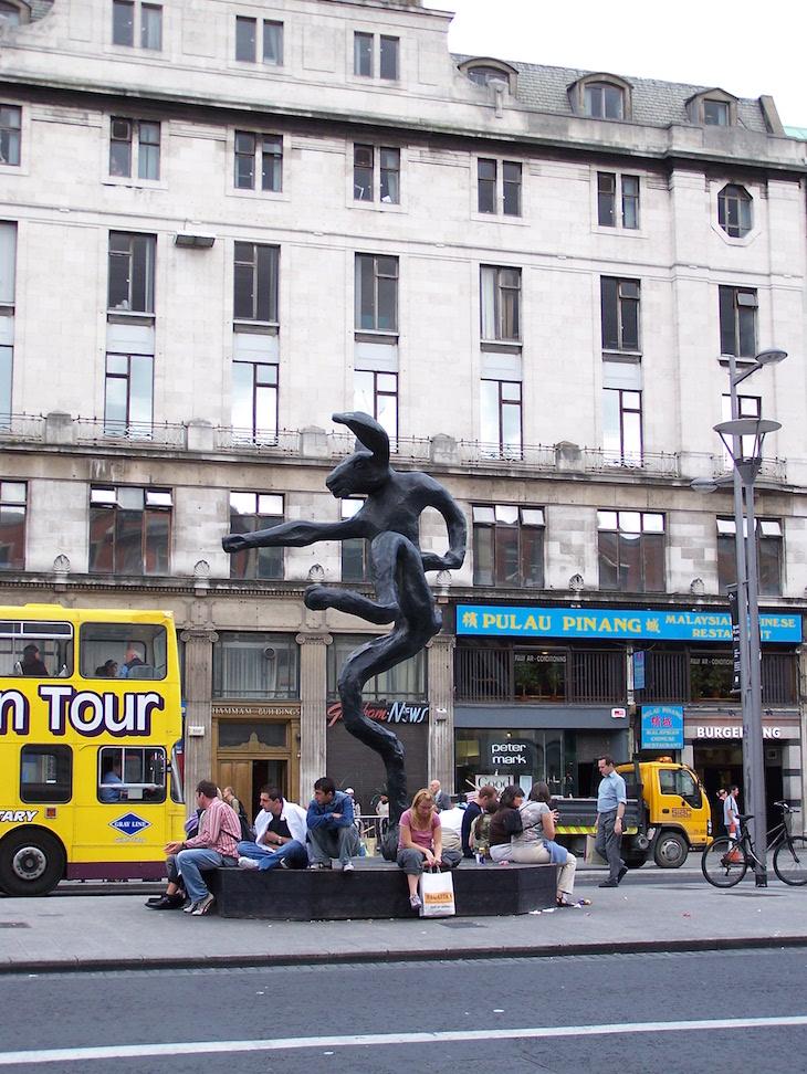 Estátua em Dublin