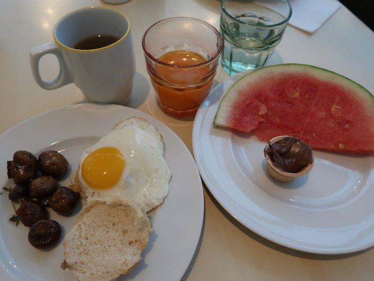 Pequeno-almoço no Hotel Scandic Berlin Potsdamer Platz © Viaje Comigo