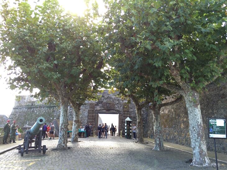 Entrada de Forte S. Brás, Ponta Delgada, São Miguel, Açores