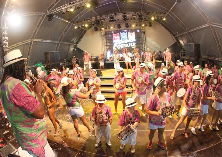 Pré-carnaval Bloco Bons Amigos - Carnaval de Fortaleza. Crédito para Prefeitura de Fortaleza
