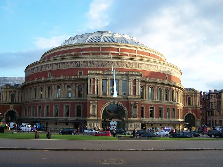 Royal Albert Hall, Londres © Viaje Comigo