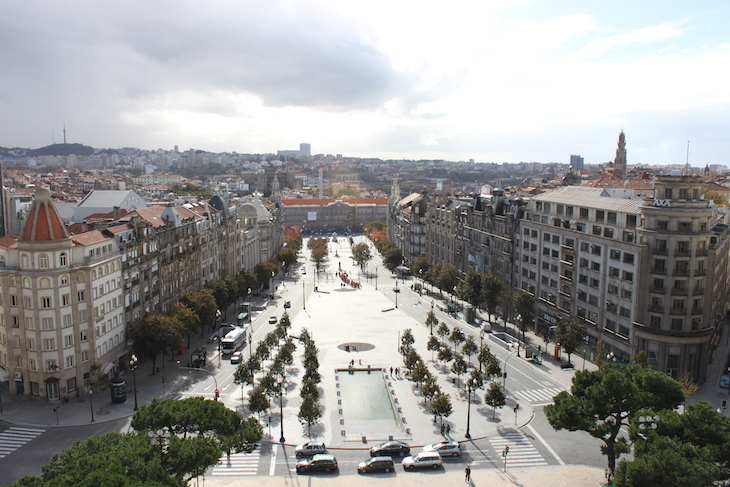 Vista da Câmara Municipal do Porto