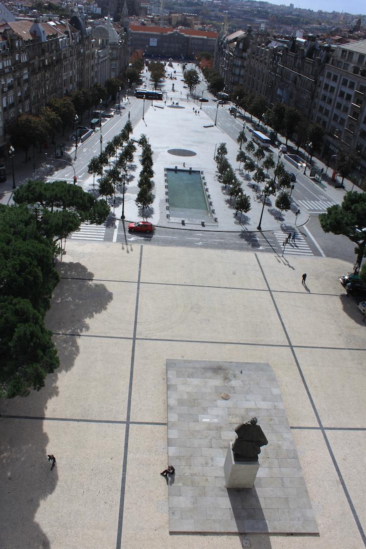 Vista da Câmara Municipal do Porto para a Avenida dos Aliados