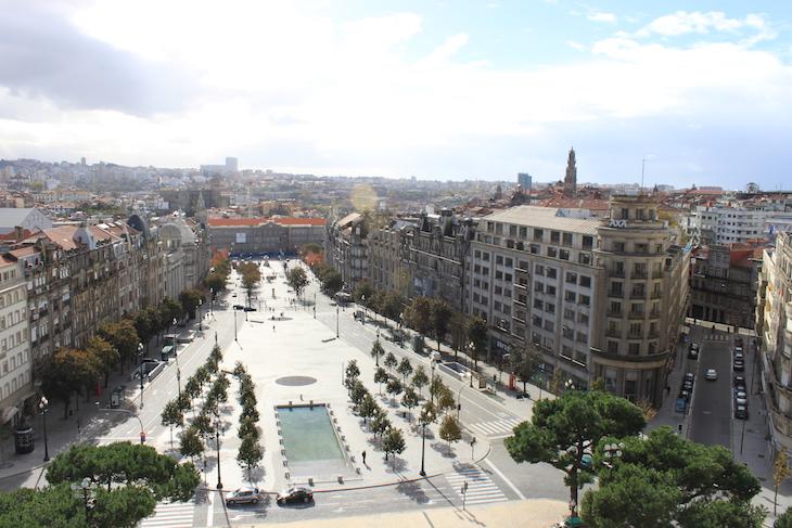 Vista da Câmara Municipal do Porto