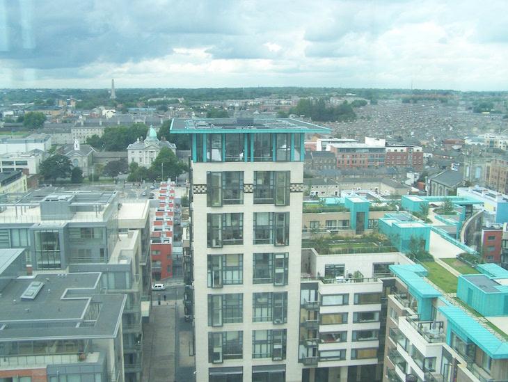 Vista panorâmica de Dublin