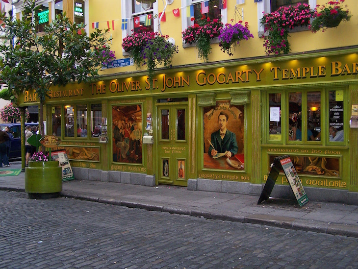 The Oliver St John Gogarty Pub - Temple Bar