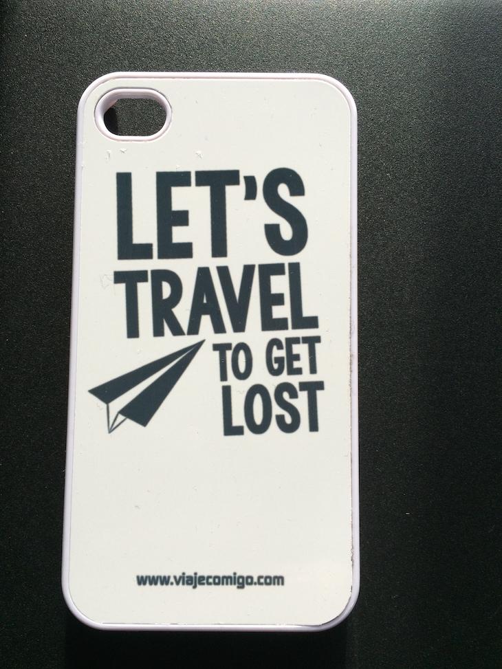 Capa iPhone Viaje Comigo
