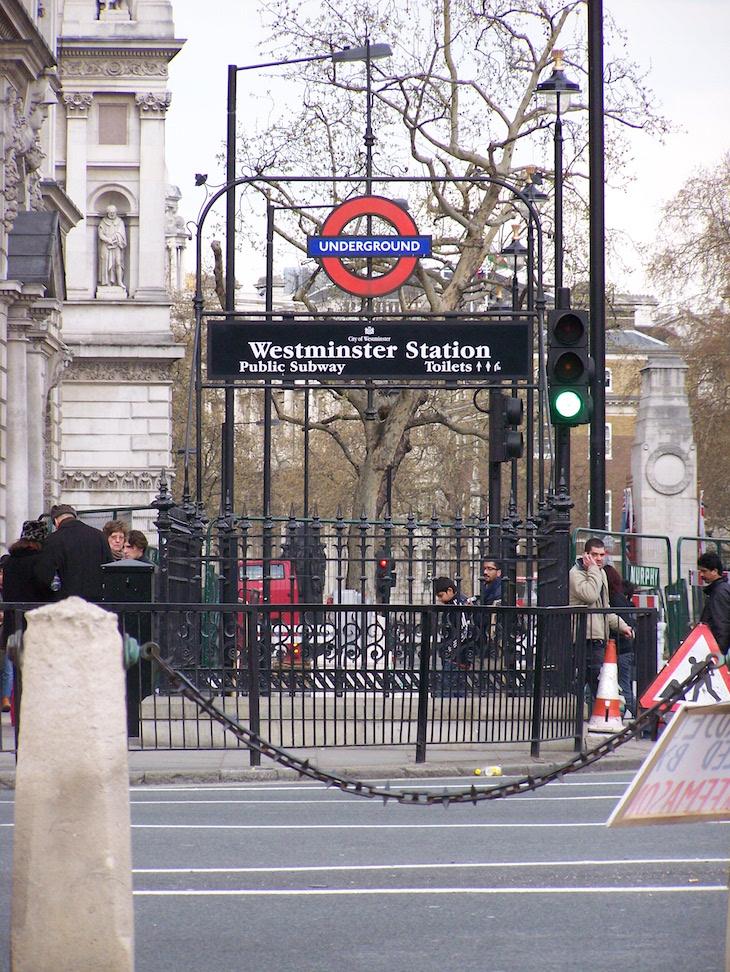 Estação de metro, Londres