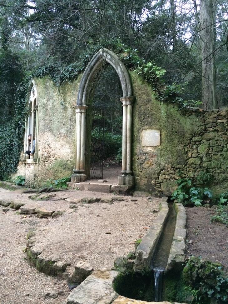 Fonte e cano dos Amores, Quinta das Lágrimas, Coimbra