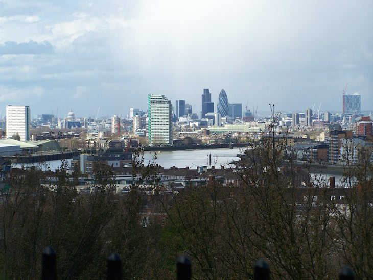 Vista de Greenwich, Londres