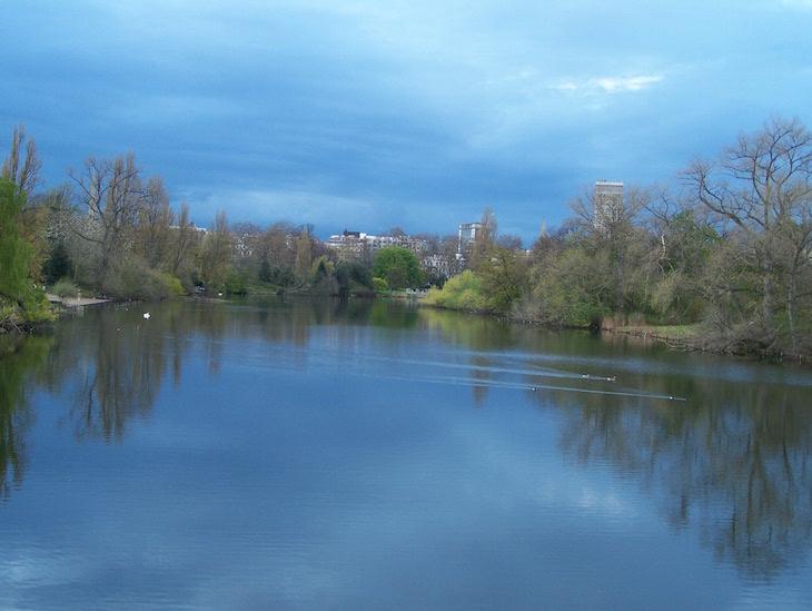 Lago do Hyde Park, Londres
