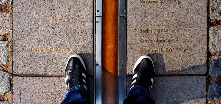 Linha do meridiano © Direitos Reservados
