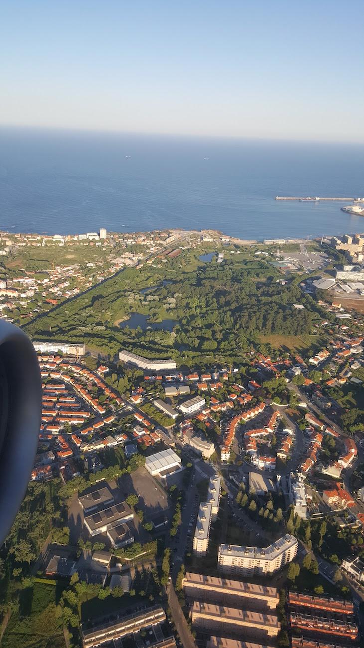 Parque da Cidade do Porto - vista do avião © Viaje Comigo