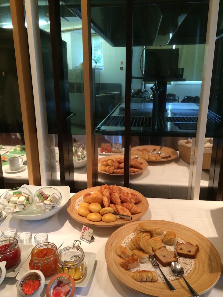 Pequeno-almoço na Quinta das Lágrimas, Coimbra